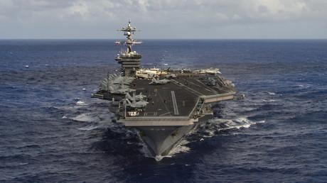 USA verlegen Marine-Kampfverband in Richtung Korea