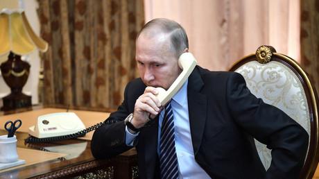 Wladimir Putin und Hassan Rohani verurteilen aggressive Handlungen gegen Syrien