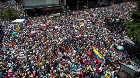 Venezolanische Opposition feiert Eier-Attacke auf Nicolás Maduro (Symbolbild)