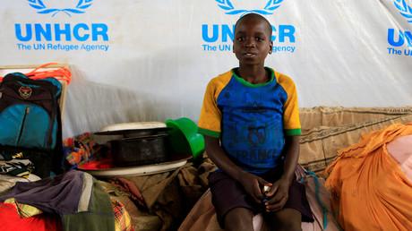 Ein Junge in einem Flüchtlingslager im Südsudan, 5. April 2017.