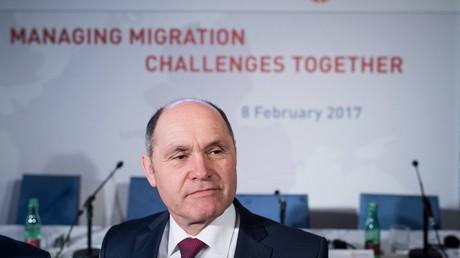 Österreichischer Minister fuer Inneres, Wolfgang Sobotka