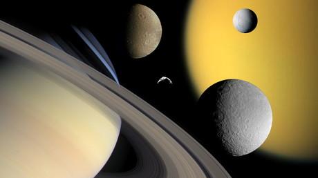 Wasserstoff auf Saturn-Satelliten gibt Hoffnung auf außerirdisches Leben
