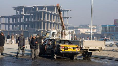 Die afghanische Hauptstadt Kabul. Archivbild.