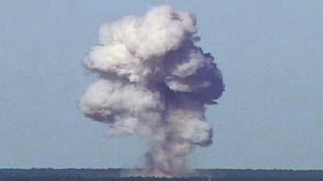 """""""Islamischer Staat"""" dementiert menschliche Verluste durch US-Riesenbombe in Afghanistan"""