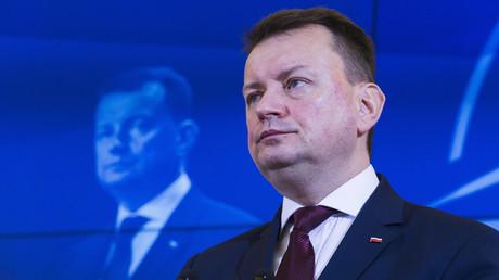 Innenminister Polens Mariusz Blaszczak