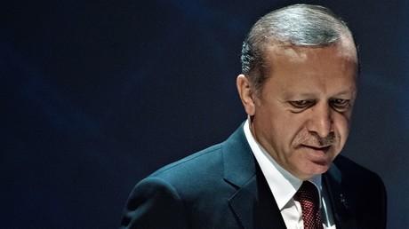 Der türkische Präsident Recep Tayyip Erdoğan auf dem Weltenergiekongress in Istanbul am 10. Oktober 2016.