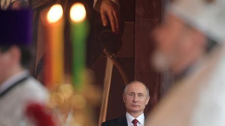 Wladimir Putin wünscht Gläubigen frohe Ostern