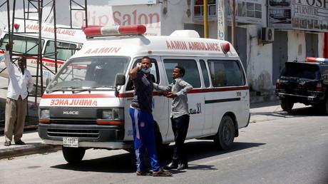 Autobombe explodiert vor Flughafen Mogadischu (Archivbild)