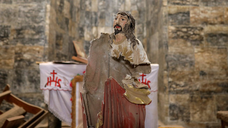 Osterfest kehrt in befreite Christengemeinden von Mossul zurück