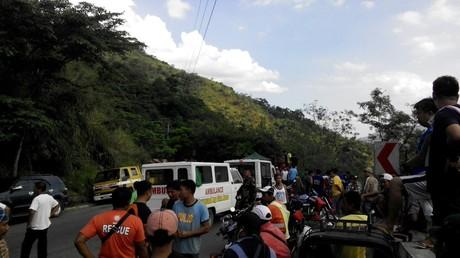 Busunglück auf Philippinen fordert mindestens 24 Menschenleben