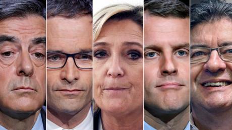 Wer zieht in den Élysée-Palast ein? Das Rennen ist noch völlig offen.
