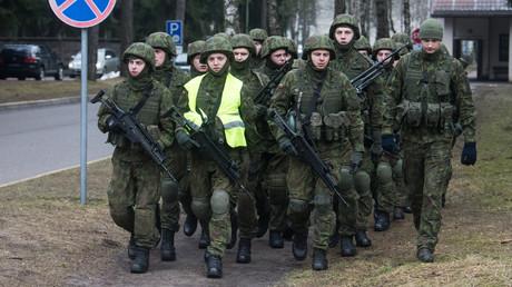 16 litauische Militärausbilder in die Ukraine entsendet