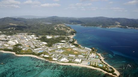 Korallenriffe nahe der US-Basis Camp Schwab auf Okinawa; Japan, 29. Oktober 2015.