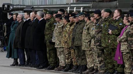 Das multinationale NATO-Bataillon tritt seinen Dienst in Estland an