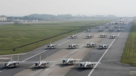 USA trainieren in Japan Massenmobilmachung gegen Nordkorea