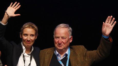 Die AfD zieht mit Alexander Gauland und Alice Weidel an der Spitze in den Bundestagswahlkampf
