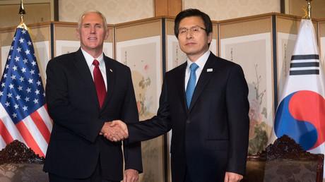 Der US-Vizepräsident Mike Pence war erst vor Kurzem in Südkorea.