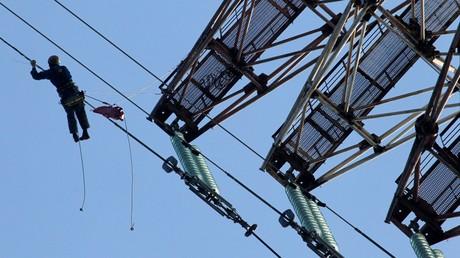 Russland startet Stromlieferungen ins ukrainische Gebiet Lugansk (Symbolbild)