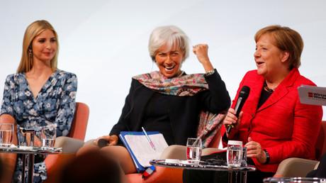 IWF-Chefin Christine Lagarde fordert von Firmen volle Transparenz über Frauenlöhne