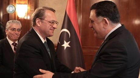 Russland könnte maßgeblich zur politischen Einigung im Bürgerkriegsland beitragen.  Bildquelle: Libysche Regierung