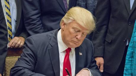 Donald Trump hat am Mittwoch seinen ersten Entwurf einer Steuerreform vorgestellt.