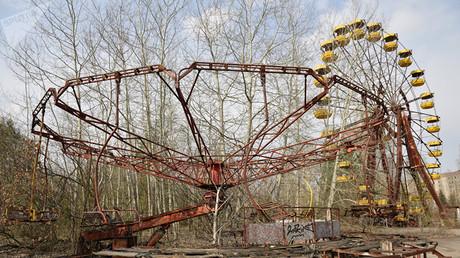 Pripjat bereitete sich auf das Volksfest zum 1. Mai vor, als die Explosion im Reaktor die Stadt dauerhaft aus ihrem Alltag riss.