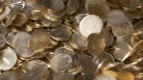 Der Rubel rollt bald wieder: Russische Zehn-Rubel-Münzen