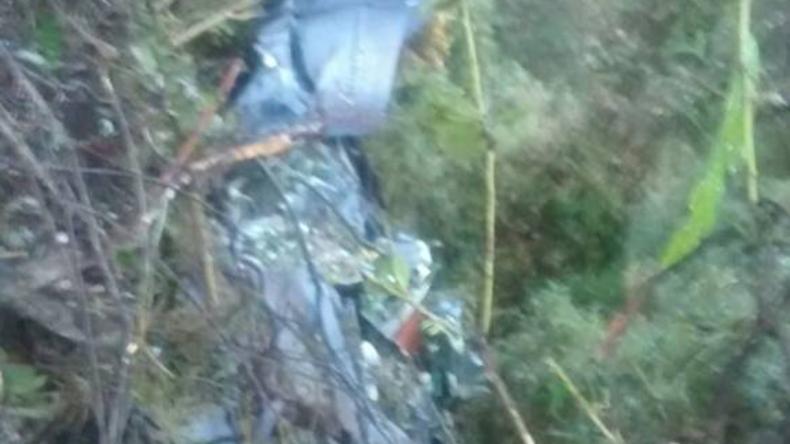 Acht Menschen sterben bei Absturz eines Militärflugzeugs in Kolumbien