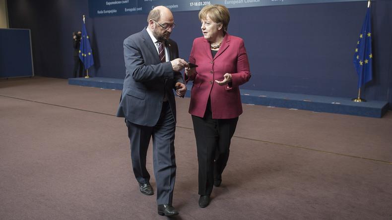 Umfrage: Die meisten Deutschen für Fortbestand der großen Koalition