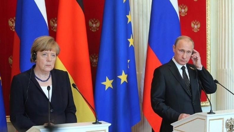 Pressekonferenz mit Merkel und Putin – Erster Russland-Besuch der Kanzlerin seit 2 Jahren