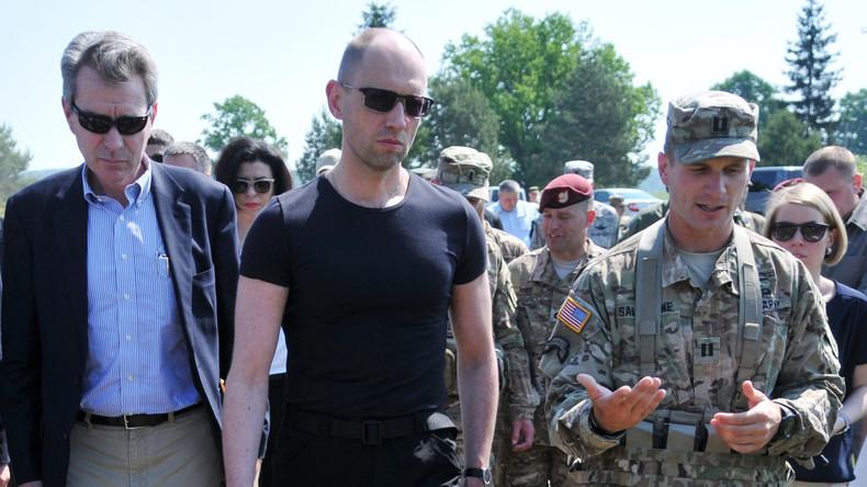"""Russlands Ermittlungskomitee: """"Beweise für Kriegsverbrechen des ukrainischen Ex-Premiers Jazenjuk"""""""
