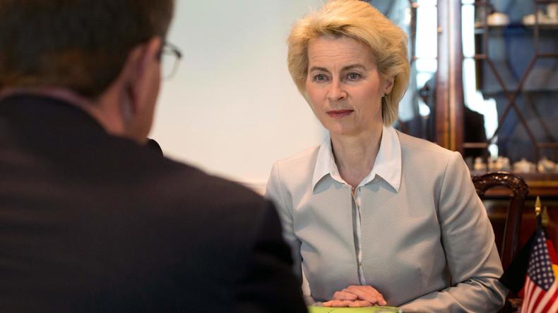 Deutsche Verteidigungsministerin Ursula von der Leyen sagt Besuch in den USA ab