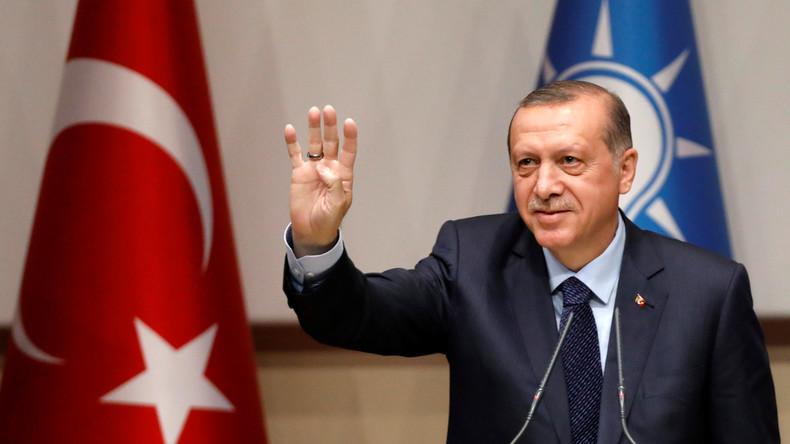 """Erdogan droht, der EU """"Auf Wiedersehen"""" zu sagen"""