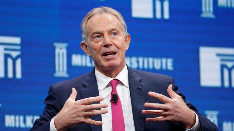 """Politisches Comeback: Tony Blair will sich wieder die """"Hände schmutzig machen"""""""