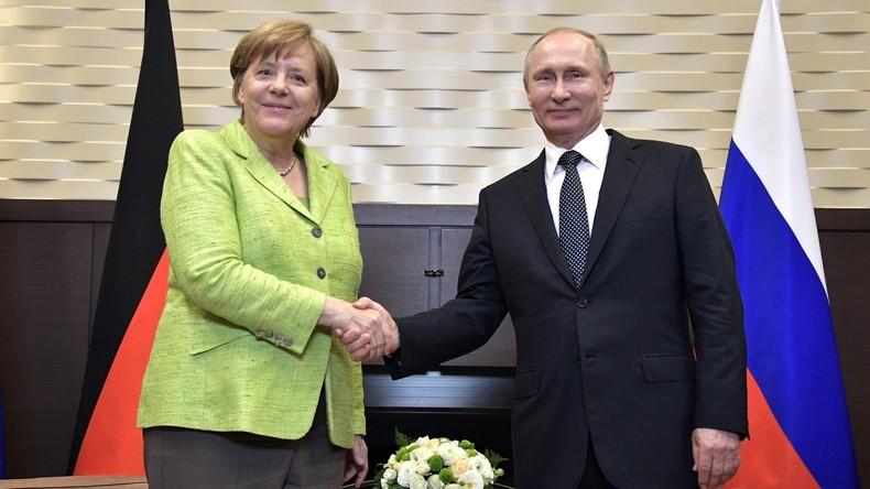 Treffen von Merkel und Putin in Sotschi: Gespräche ja, Entspannung nein