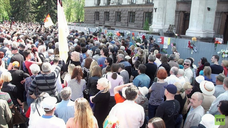 Augenzeugin: Es waren mehr als 48 Tote - Tausende trauern am Jahrestag des Odessa-Massakers