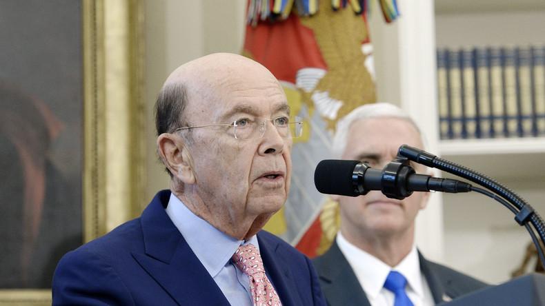 US-Handelsminister: Tomahawk-Raketenangriff auf Syrien war für uns ein reines After-Dinner-Amüsement