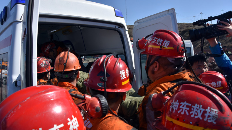 Tunneleinsturz in China fordert zwölf Menschenleben