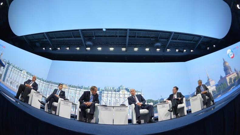 Auftritt von Wladimir Putin bei Plenarsitzung des Internationalen Wirtschaftsforums angekündigt