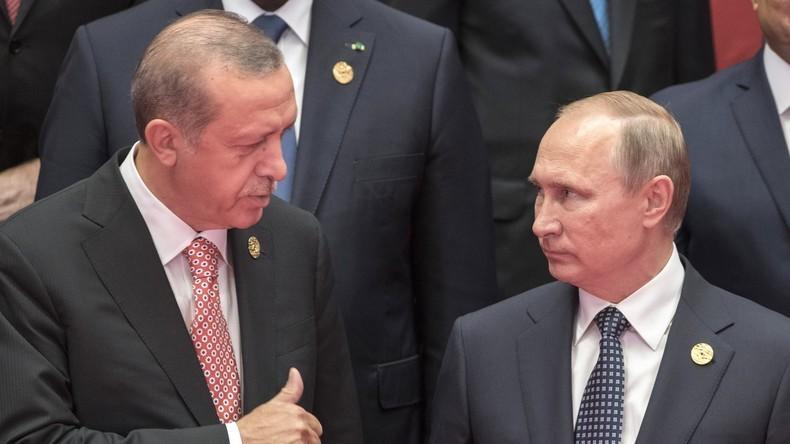 Live: Putin und Erdogan halten gemeinsame Pressekonferenz in Sotschi