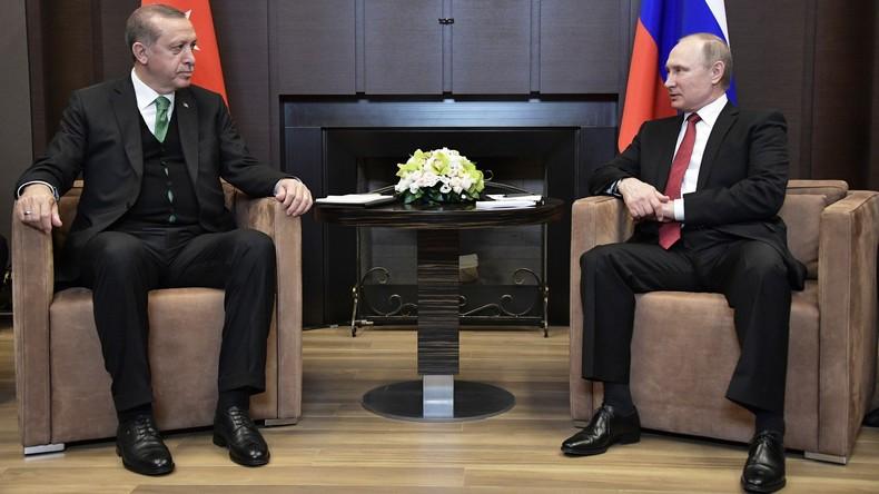 Wladimir Putin: Sanktionen gegen Türkei werden schrittweise aufgehoben