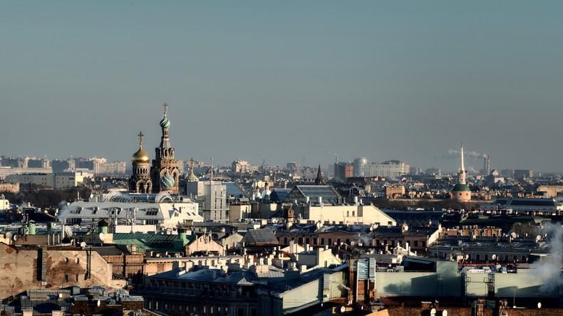 Deutsches Geschoss aus dem Zweiten Weltkrieg in Sankt Petersburg entschärft