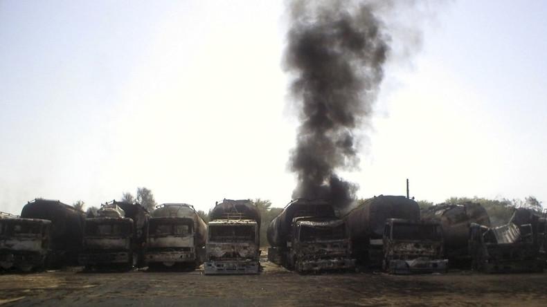 Russische Luftstreitkräfte vernichteten über 3.000 IS-Tanklaster seit Beginn der Syrien-Operation