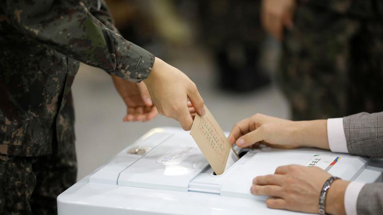 Südkoreaner verbitten sich Einmischung der US-Amerikaner in ihre Wahlen am 9. Mai 2017