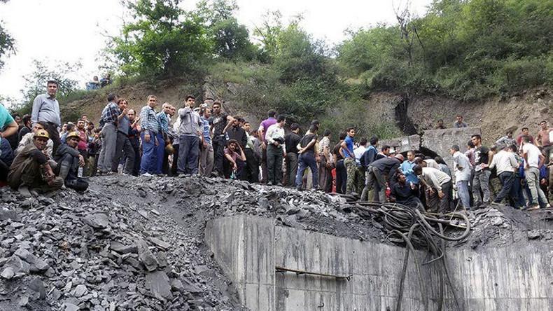 Iran: Zahl der Todesopfer in Kohlebergwerk steigt auf 35