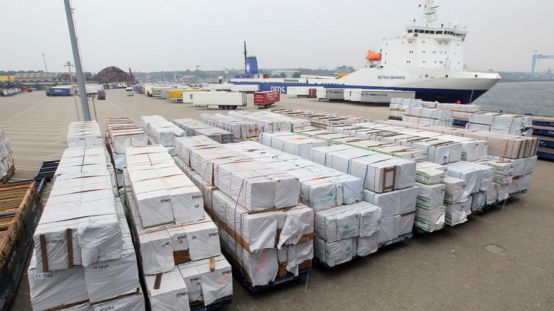 Handel zwischen Deutschland und Russland hat kräftig angezogen