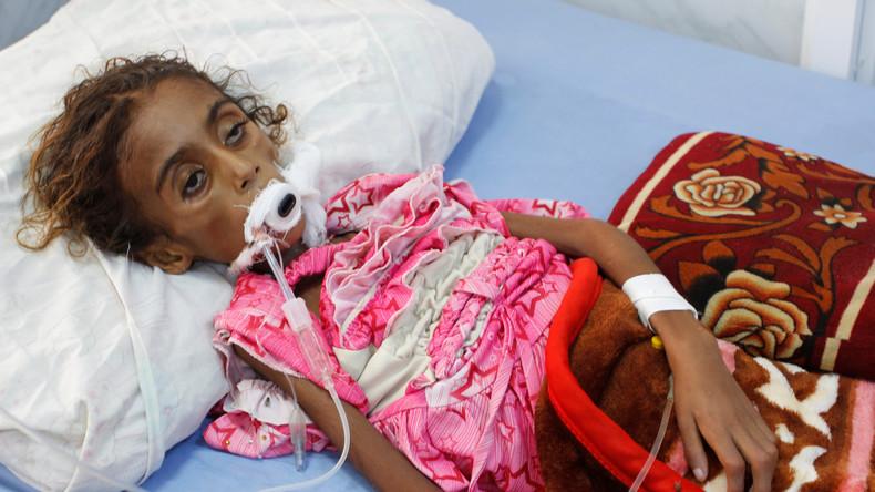 """Jemen: Warnungen vor Hungerkatastrophe """"biblischen Ausmaßes"""" durch Saudi-geführten Angriffskrieg"""