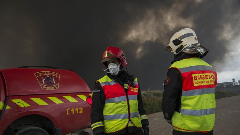 Explosionen in Müllverwertungsanlage in Madrid – 30 Verletzte