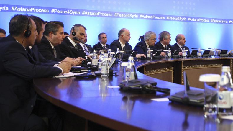Verhandlungen über Frieden für Syrien: Schutzzonen für Zivilisten geplant