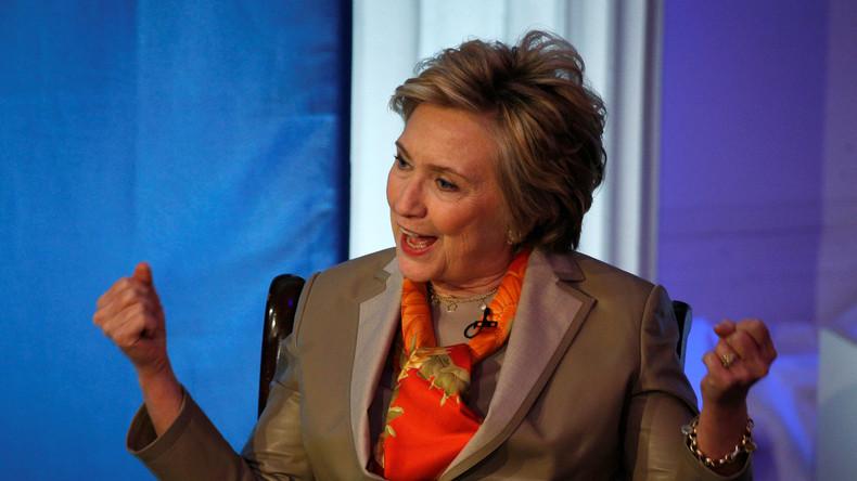 USA: Hillary Clinton will Widerstand gegen Trump sponsern